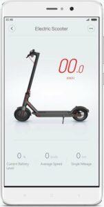 Xiaomi M365 Elektrische Step app