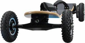 Elektrisch skateboard Topsnelheid 25 km per uur, actieradius 40 kilometer, met twee accu's