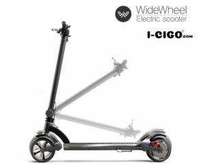 Mercane Widewheel Pro opgeplooid