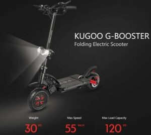 Kugoo G-Booster lichten